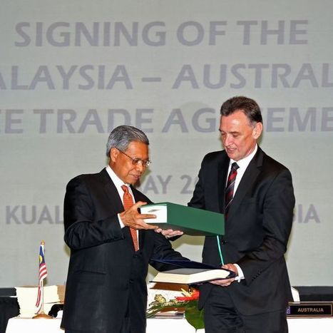 Australia signs free-trade deal with Malaysia | Australia's Global links | Scoop.it