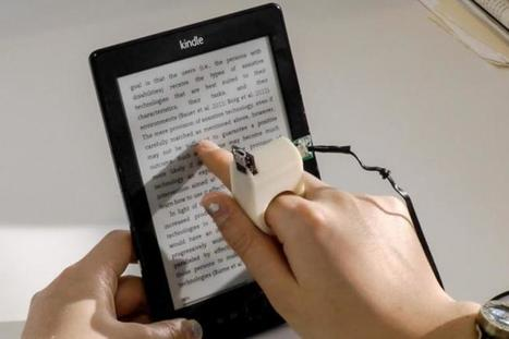 This finger-mounted camera helps the blind to read | #inLearning + HCI | Scoop.it