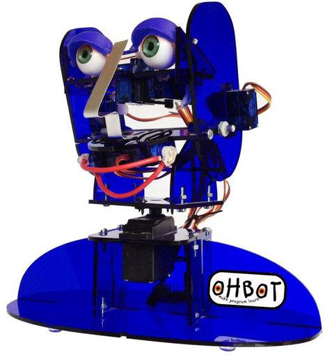 Ohbot, un kit d'émotions pour apprendre la robotique | Une nouvelle civilisation de Robots | Scoop.it