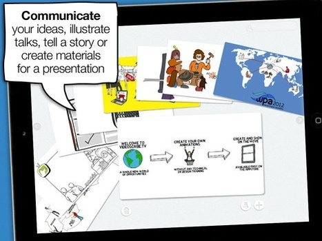 """Create """"Hand Drawn"""" animations on the iPad 