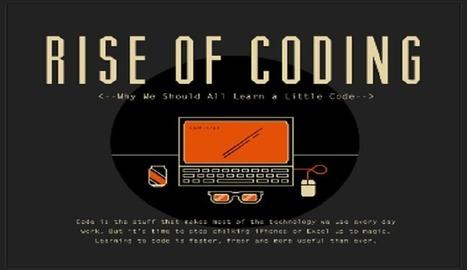¿Por qué los estudiantes necesitan aprender programación? [infografía]   tecno4   Scoop.it