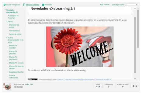 Novedades eXeLearning 2.1 | Con visión pedagógica: E-learning y formación a través de la red | Scoop.it