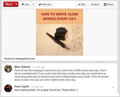 5 Ways To Flood Your Blog With Traffic Using Pinterest | Social Media and Mobile Websites | Scoop.it