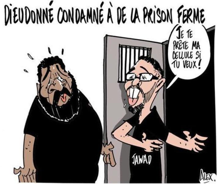 Dieudonné condamné à de la prison ferme | Baie d'humour | Scoop.it