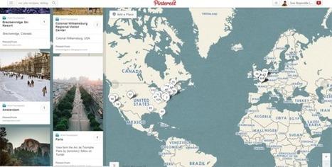 Pinterest Integrates Foursquare Mapping | Mapas urbanos | Scoop.it