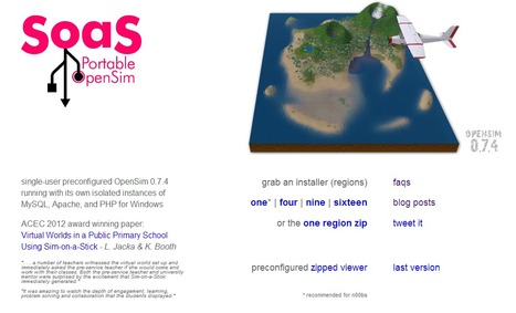SOAS aka Sim on a Stick | Second Life and other Virtual Worlds | Scoop.it