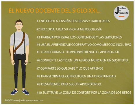 El nuevo docente del siglo XXI - Imagenes Educativas | Colaborando | Scoop.it