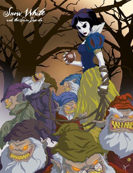 Twisted Princess : les héroïnes de Disney plus démoniaques que jamais | Glanages & Grapillages | Scoop.it