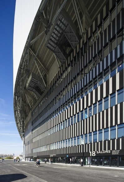 SCAU adds undulating roof to Marseille football stadium | The Architecture of the City | Scoop.it