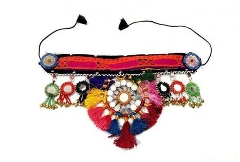 Kuchi Tribal Head Band Cairo Egyptian Oriental Belly Dance Headdress | Buy Belly Dance Jewelry Tribal Fusion Bellywood | Scoop.it