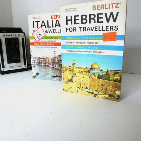 Berlitz Travel Language Books // Italian | Chummaa...therinjuppome! | Scoop.it