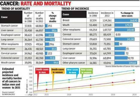 20% of Delhi's lung cancer patients non-smokers: Doctors - Times of India | Occupational and Environment Health | Scoop.it
