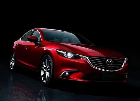 Mazda 6 restylée : pour rester pimpante - En direct du salon de Los Angeles | Mazda | Scoop.it