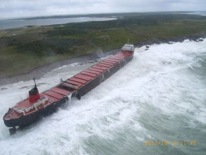 NS: Province moving forward with MV Miner salvage - Daily Business Buzz - Nova Scotia | Nova Scotia Fishing | Scoop.it