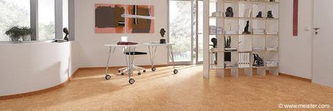 Un revêtement de sol en liège original et isolant | Le flux d'Infogreen.lu | Scoop.it