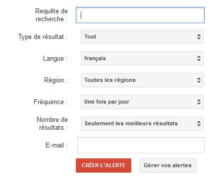 Google Alertesajoute un filtre sur la langue et la région | CurationVS Veille | Scoop.it
