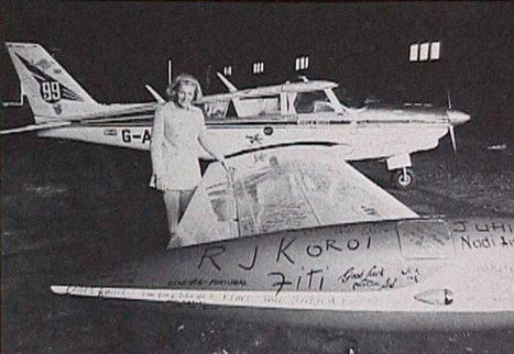 Despite a Constant Plague of Gremlins, This Lady Earned 104 Aviation Records | Strange days indeed... | Scoop.it