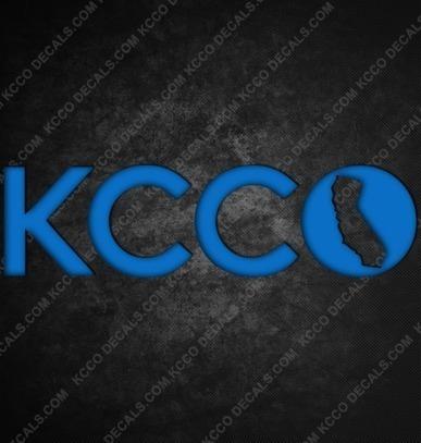#California #KCCO Sticker - KCCOdecals.com | KCCO | Scoop.it