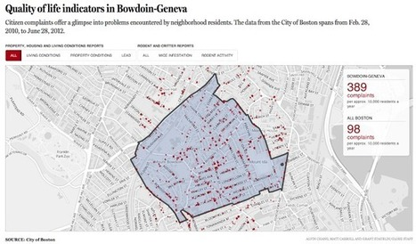 "The Functional Art: An Introduction to Information Graphics and Visualization: Multimedia and data journalism: Boston Globe's ""68 Blocks"" 