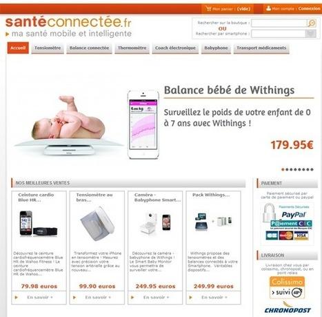 SantéConnectée : première e-boutique dédiée à l'innovation santé | e-santé | Scoop.it