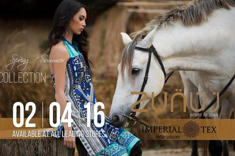 Zunuj Summer Lawn Collection 2016 | Latest Fashion Trends Updates | Scoop.it