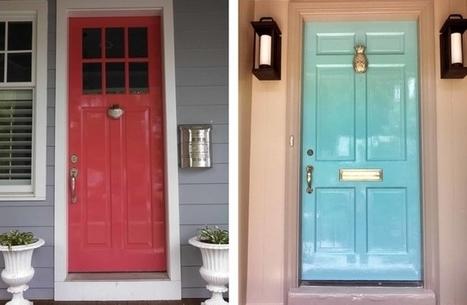 Front doors reflect well on owners - Las Vegas Review-Journal | Custom Wood Garage doors | Scoop.it