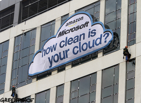Greenpeace gets very public with protest of Microsoft   Microsoft   Scoop.it