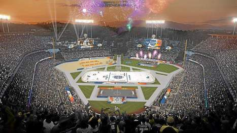 Ducks, Kings to break the ice at Dodger Stadium in NHL Stadium Series - Los Angeles Daily News | Sports Facility Management.4254828 | Scoop.it