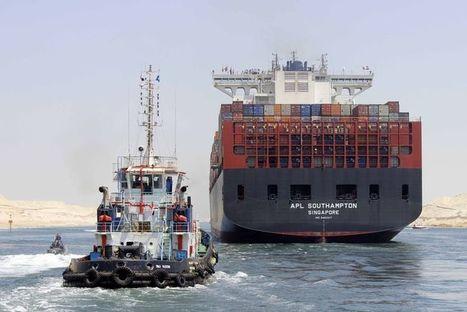 Un deuxième canal de Suez mis en service 148 ans après le premier | Epic pics | Scoop.it