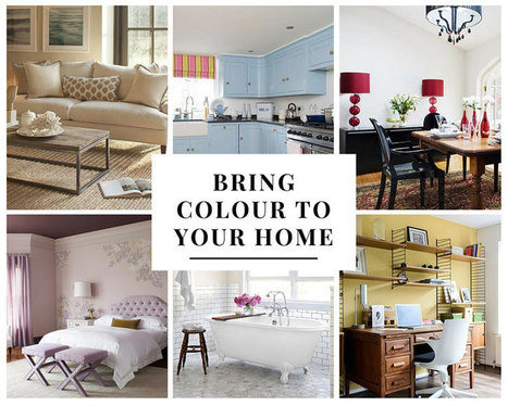 Bring Colour to Your Home – Best Hues to Use in Any Room | Home improvement | Scoop.it