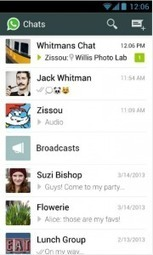 Free Download WhatsApp Messenger 2.11.152 | Android Apps, Games, and Themes | Scoop.it