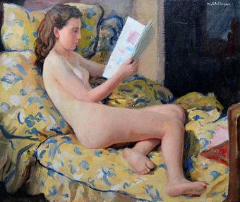 Les Nu(e)s lisant de Maurice Ehlinger | The Blog's Revue by OlivierSC | Scoop.it