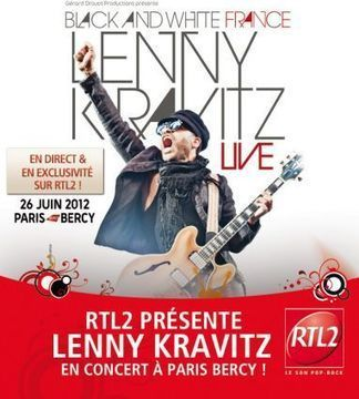 Lenny Kravitz à Bercy et en direct sur RTL 2 | Radio 2.0 (En & Fr) | Scoop.it