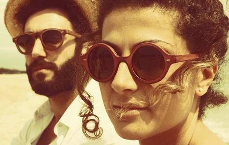 SLAVE to ANCESTORS leather sunglasses 100% made in Le Marche | Le Marche & Fashion | Scoop.it