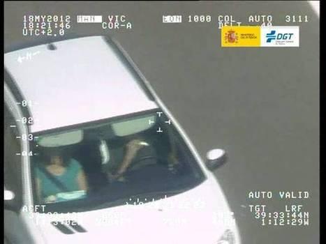 Más de 3.200 conductores denunciados en una semana por usar el móvil | Tus Multas | Scoop.it
