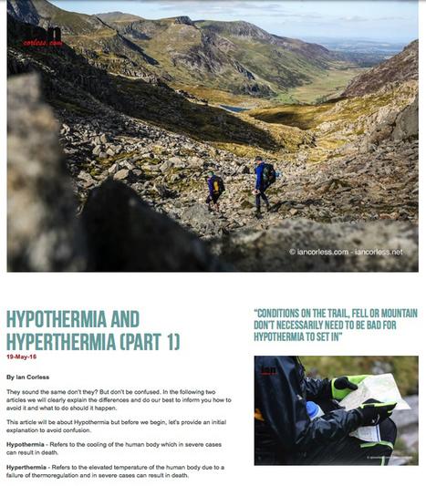 HYPOTHERMIA – Hints 'n' Tips | Talk Ultra - Ultra Running | Scoop.it