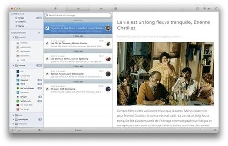 Caffeinated [lecteur RSS pour MacOS] met la clé sous la porte | RSS Circus : veille stratégique, intelligence économique, curation, publication, Web 2.0 | Scoop.it