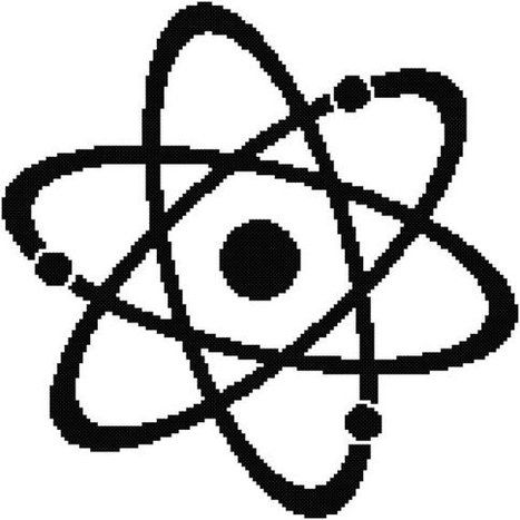 Nucleus Physics Cross Stitch Pattern | Nuclear Physics | Scoop.it