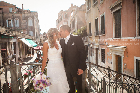 Alexandra and Cédric have decided to marry religiously in Venice. | My Italian wedding | Scoop.it