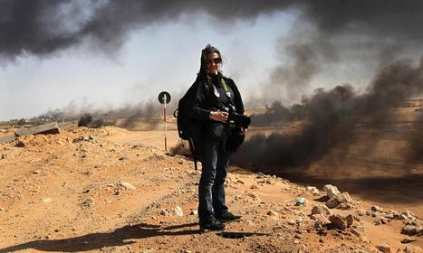 Women on the frontline: female photojournalists' visions of conflict | Herstory | Scoop.it