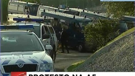 Manifestantes queriam bloquear acesso à ponte 25 de abril, em Lisboa | Greve Geral | Scoop.it