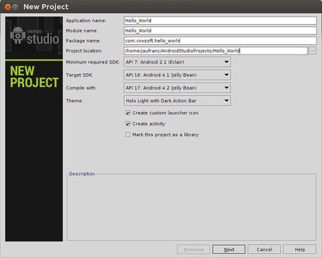 Installing Android Studio IDE in Ubuntu – Hello World Application | Embedded Systems News | Scoop.it