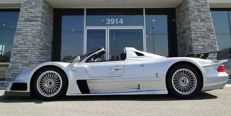 Une Mercedes CLK GTR Roadster sur ebay - actualité automobile - Motorlegend | Vroum Vrouumm | Scoop.it