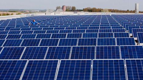 Dimanche, le soleil a fait chuter très bas le prix de l'électricité - RTBF | Le soleil | Scoop.it