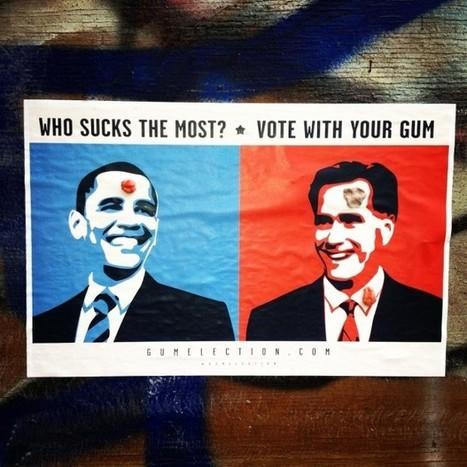 Gum Election 2012: did you vote? @BoweryBoogie   urban designs   Scoop.it