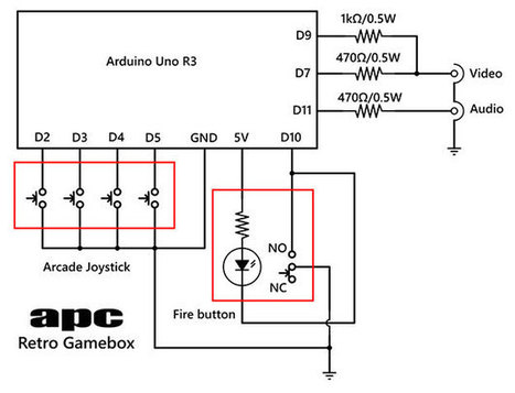 Arduino Project 7: Build a Retro Gamebox   Arduino in the Classroom   Scoop.it
