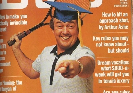 RIP legendary tennis coach Vic Braden - Inspiring with a Smile   Ace Tennis Lessons   Scoop.it