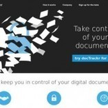 docTrackr. Contrôlez vos documents partagés. | Collaboration en ligne et communication interne | Scoop.it