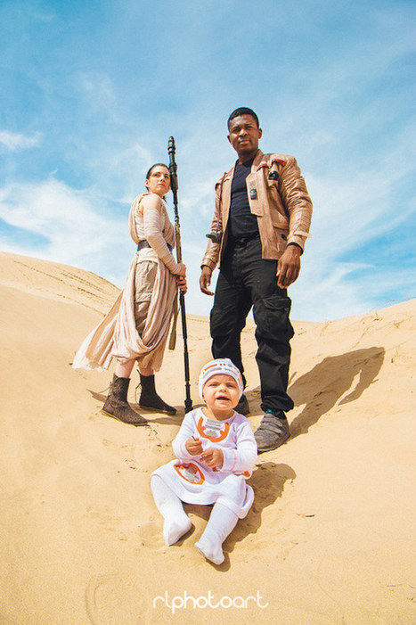 Couple and Their Baby Create Epic Star Wars-Inspired Photo Shoot | Le It e Amo ✪ | Scoop.it
