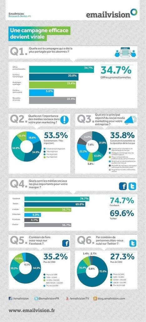[Infographie] L'importance des médias sociaux pour les marketeurs | Social Media Curation par Mon Habitat Web | Scoop.it